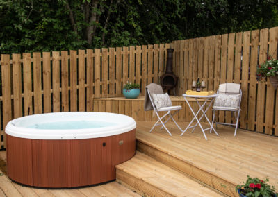 hot tub holiday accommodation Royal Deeside Scotland